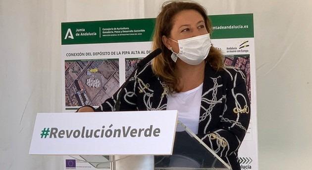 Andalucía invierte cerca 11,6 millones llevar agua desalada vecinos Almería