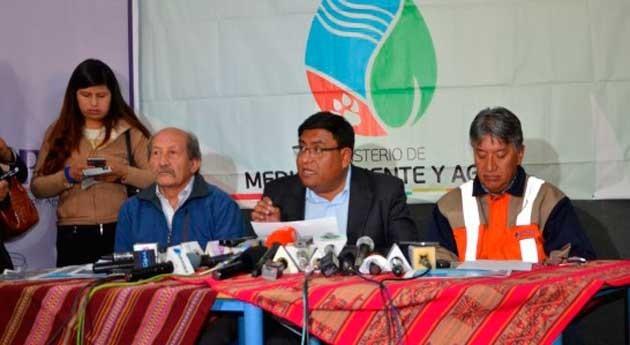Bolivia ampliará cobertura agua potable y riego Alto, Batallas y Pucarani