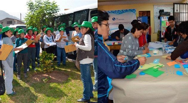 ANA capacita docentes distrito Ate taller 'Planeta Azul'