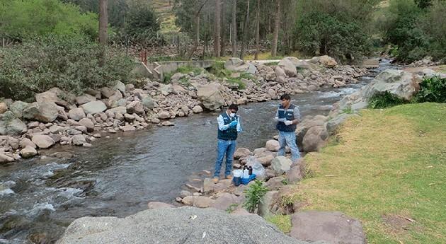 ANA realiza monitoreo participativo calidad agua cuenca río Chillón