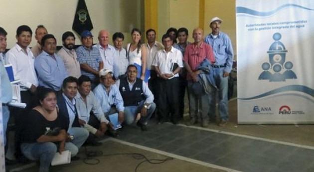 alcaldes cuenca Colca-Camaná-Majes se alían trabajar gestión integrada agua
