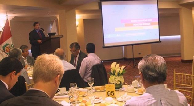 Presentado Estudio Financiero Proyectos Hídricos Perú