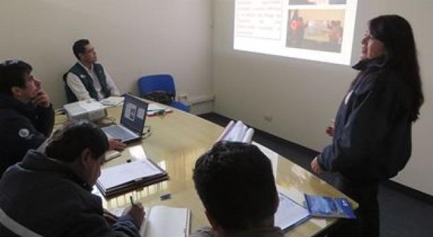 ANA e Instituto Nacional Defensa Civil capacitan Plan Comunitario Riesgos