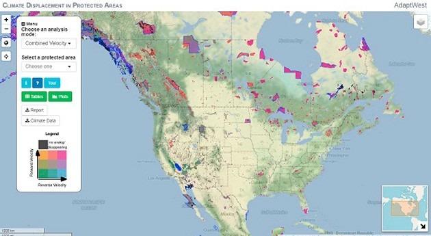 nueva aplicación web predice qué velocidad se moverá clima América Norte