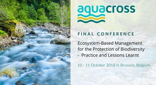 Gestión basada ecosistemas protección biodiversidad acuática: AQUACROSS