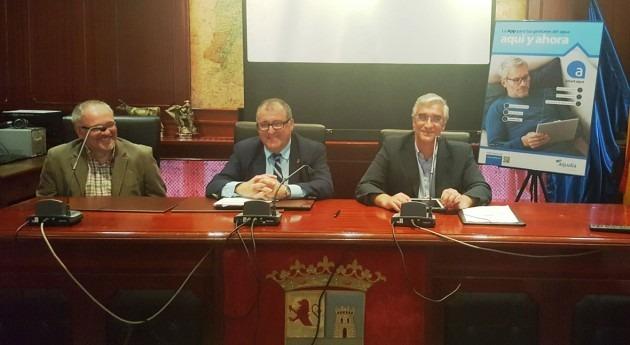 Presentada Smart aqua, app Aqualia que mejorará gestión agua Valdés