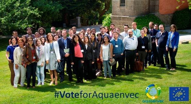 Aquaenvec, candidato ser proyecto medio ambiente favorito ciudadanía