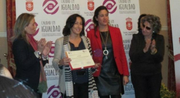Aquona recibe premio política igualdad y responsabilidad social