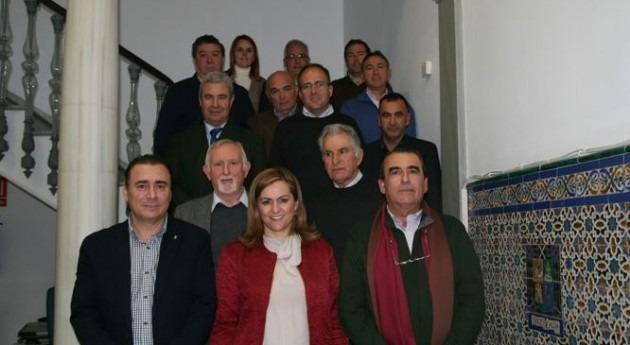 María Jesús Serrano aborda Asociación Regantes Andalucía futuras líneas colaboración