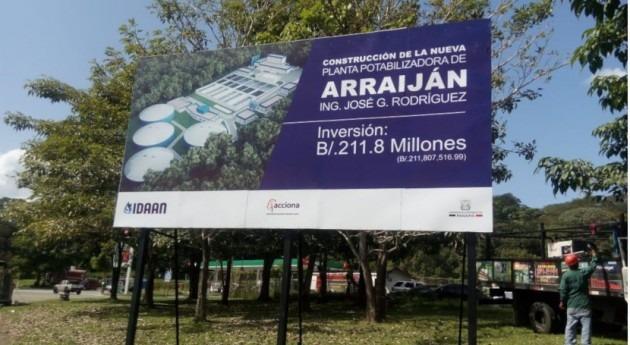 ACCIONA comienza construcción potabilizadora Arraiján, Panamá