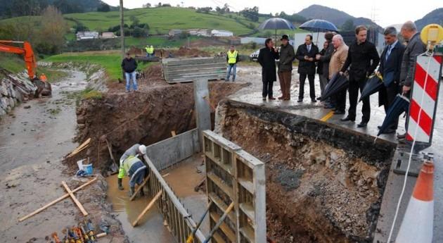 Nuevo puente arroyo Tejas San Felices Buelna evitar inundaciones