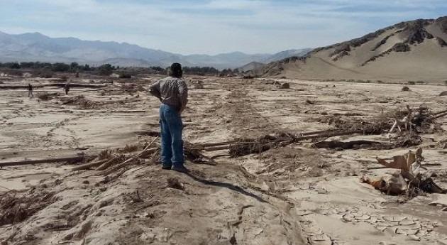 Más 1,6 millones dólares pequeña agricultura y pueblos originarios afectados aluvión Atacama