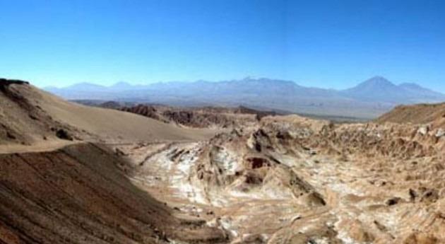 Algas y cianobacterias habitan rocas desierto Atacama, lugar más seco mundo
