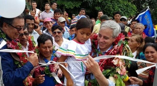 comunidades bolivianas San Buenaventura acceden servicio agua potable permanente