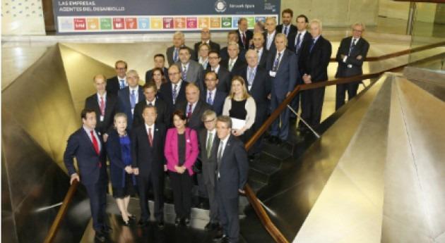 Ban Ki-moon empodera empresarios españoles liderar cumplimiento ODS