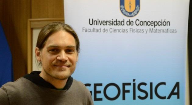 Geofísico presenta resultados investigación pionera Chile