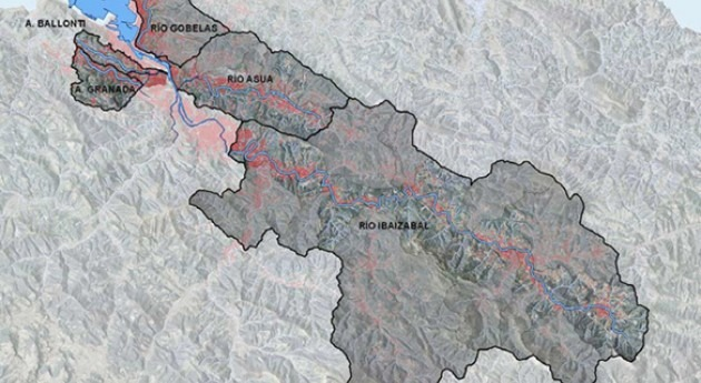 Convenio reducir vertidos conexión sistemas generales saneamiento Bizkaia