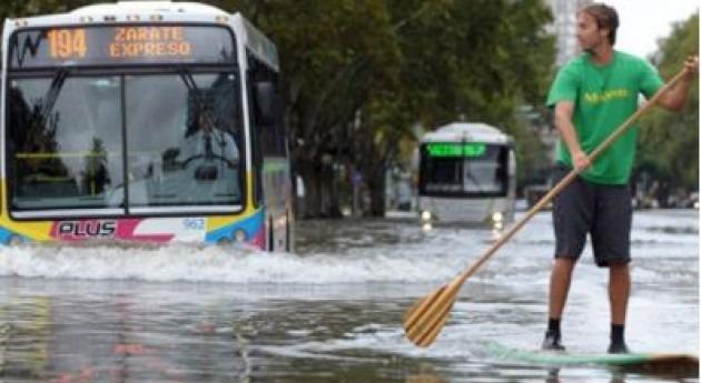 Buenos Aires declara estado 'emergencia hídrica'