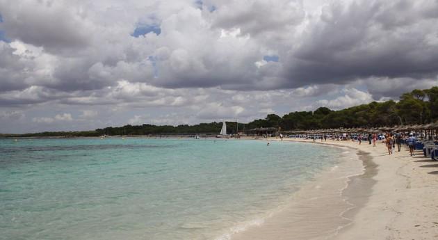 Playa de Es Trenc en Campos