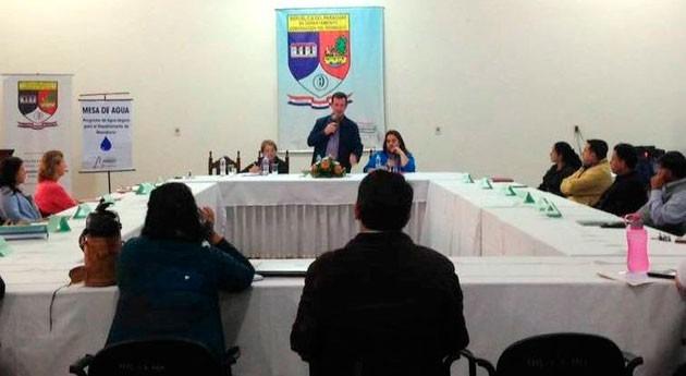 Paraguay capacita gestión agua autoridades municipales y comunitarias Ñeembucú