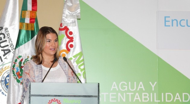 Carla Grieger, Directora General Adjunta de Comunicación y Cultura del Agua de la Conagua