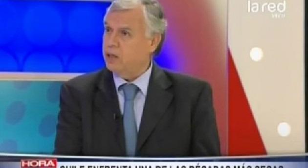 Carlos Furche, ministro Agricultura Chile, explica medidas Gobierno enfrentar sequía
