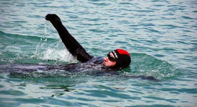 Cruzar nado Mar Menor, hazaña pedir conservación laguna