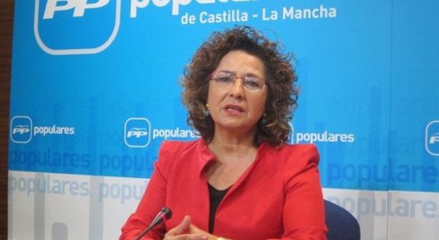 Carmen Riolobos, portavoz del PP en Castilla-La Mancha