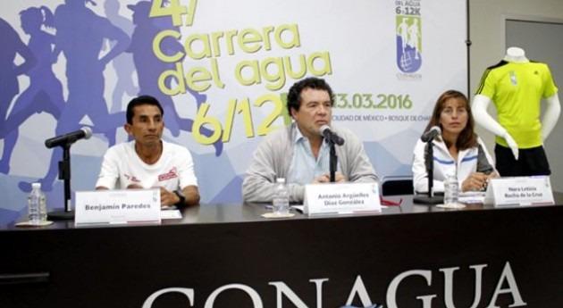 Conagua invita participar Carrera Agua