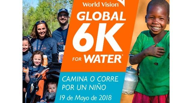 ACCIONA Agua recorreremos 6 kilómetros beber agua potable. Participa próximo 19 mayo