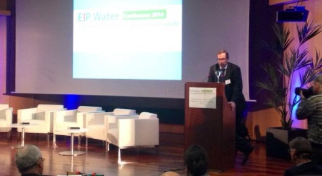 Tomas Michel, director general de Cetaqua, durante su intervención