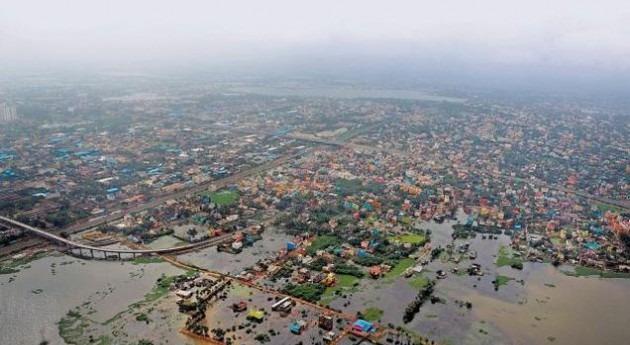 Catástrofe Chennai: lluvias torrenciales dejan 325 muertos
