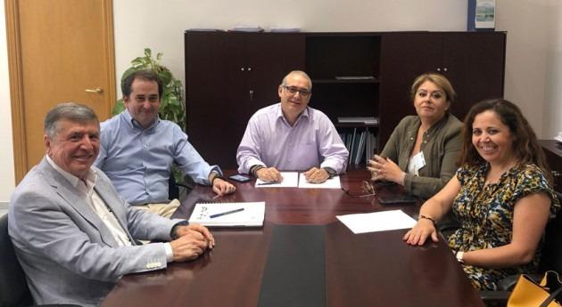 CHG trata avances modificación concesión Comunidad Regantes Fresno