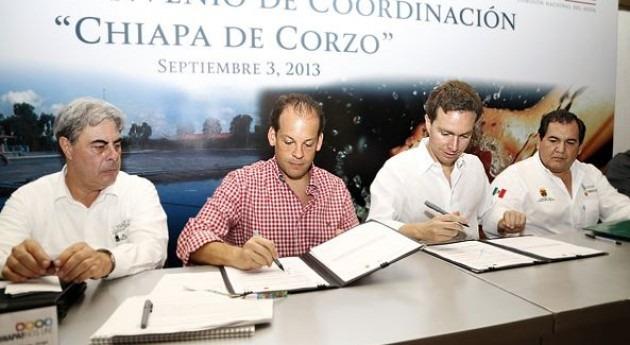 Se invertirán cerca 30 millones dólares obras hidroagrícolas y agua potable Chiapas