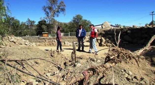 Comisión Nacional Riego trabaja recuperación canales Elqui