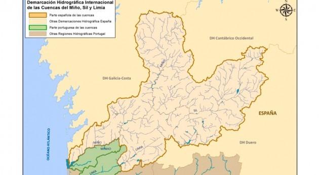CHMS evalúa efectos cambio climático parte internacional ríos Miño y Limia