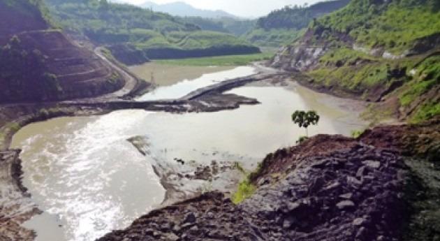 presa Río Grande evita que Chone se inunde