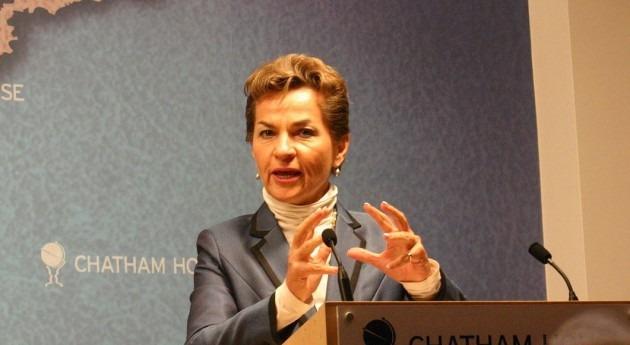 """""""Figueres ha sido grabada diciendo que la democracia es un mal sistema político para combatir el calentamiento global"""" (Wikipedia/CC)."""