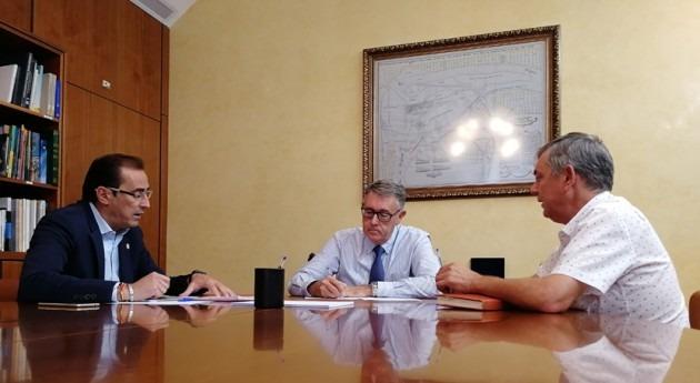 CHS se reúne alcaldes Ojós y Ulea estudiar efectos pasada gota fría