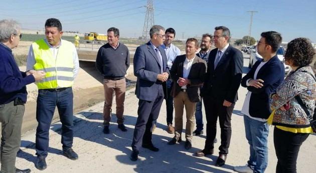 Comienzan obras emergencia reparar canal postrasvase Campo Cartagena