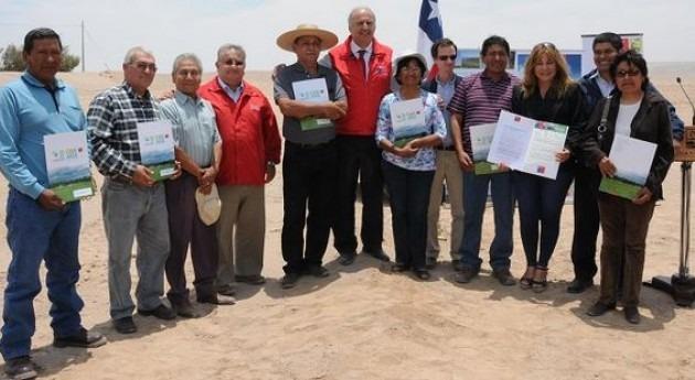 región Arica y Parinacota se beneficiará entrega 1,7 millones dólares bonificaciones Ley Riego