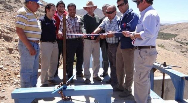 Inauguradas dos obras que beneficiarán 75 agricultores chilenos inversión más 800.000 dólares