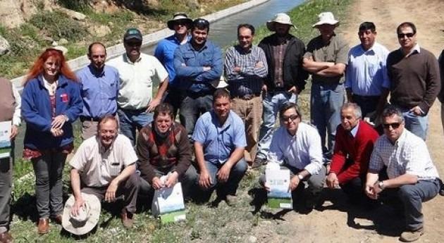 Agricultores maulinos mejorarán producción gracias al aporte Ley Riego 4 millones dólares
