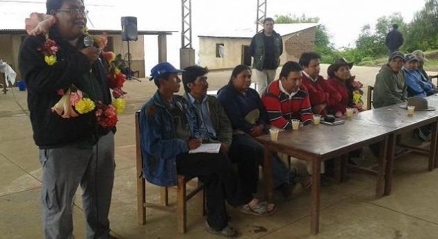 Comienza construcción sistema riego integral municipio boliviano Pasorapa
