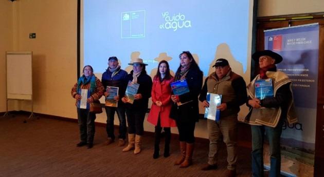 Más 250 agricultores Colchagua regularizan derechos aprovechamiento agua