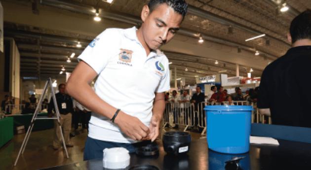 Equipo ANEAS México presente competencia Meter Madness 2016
