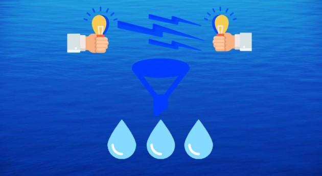 ¿Se puede crear agua nada?