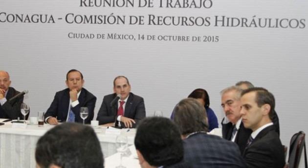 Conagua y Comisión Recursos Hidráulicos Senado suman esfuerzos materia agua