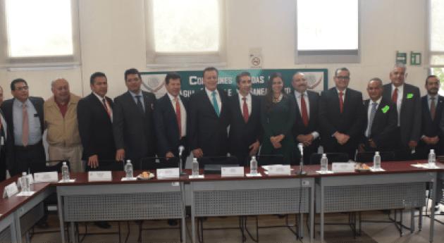 Diputados se reúnen Consejo Directivo ANEAS