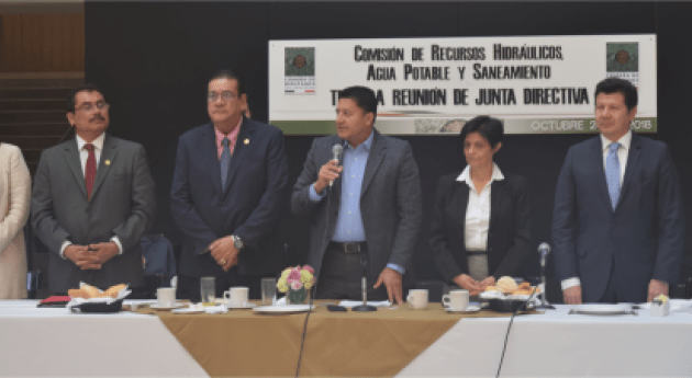 ANEAS participa Tercera Reunión Comisión Recursos Hidráulicos